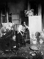 0106486 © Granger - Historical Picture ArchiveFRANCIS PICABIA (1879-1953).   French painter. Photographed in his studio.