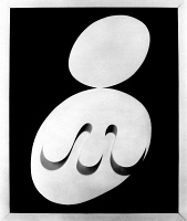 0324121 © Granger - Historical Picture ArchiveARP: TWO HEADS, 1929.   'Two Heads.' Painted wood relief by Jean (Hans) Arp, 1929. EDITORIAL USE ONLY.