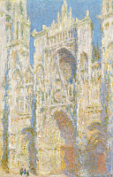 0433681 © Granger - Historical Picture ArchiveMONET: ROUEN CATHEDRAL.   'Rouen Cathedral, West Facade.' Oil on canvas, Claude Monet, 1894.