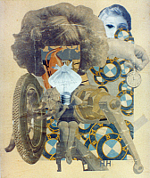 0032009 © Granger - Historical Picture ArchiveHOCH: YOUNG GIRL, 1920.   The Beautiful Young Girl. Collage, by Hannah Höch. EDITORIAL USE ONLY.