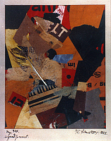 0032014 © Granger - Historical Picture ArchiveSCHWITTERS: IRGENDSOWAS.   Collage, 1922, by Kurt Schwitters.   Collage. EDITORIAL USE ONLY.