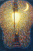 0162710 © Granger - Historical Picture ArchiveBALLA: STREET LIGHT, 1909.   Oil on canvas by Giacomo Balla, 1909.
