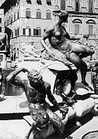 0162836 © Granger - Historical Picture ArchiveFLORENCE: NEPTUNE FOUNTAIN.   The Fountain of Neptune in the Piazza della Signoria in Florence, by Bartolomeo Ammannati and his assistants, 1563-65.