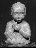 0163741 © Granger - Historical Picture ArchiveFIAMBERTI: BUST OF A CHILD.   Bust of a child by Tommaso Fiamberti, 16th century.