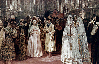 0024477 © Granger - Historical Picture ArchiveREPIN: BRIDE, 1884.   Choosing the Czar's Bride, by Ilya Repin. Oil, 1884.