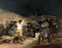 0020904 © Granger - Historical Picture ArchiveGOYA: THIRD OF MAY.   The Third of May, 1808. Oil on canvas, 1814, by Francisco Goya.