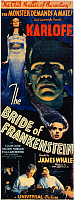 0011280 © Granger - Historical Picture ArchiveBRIDE OF FRANKENSTEIN 1935.   The Bride of Frankenstein film poster, 1935.