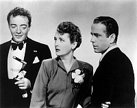 0013542 © Granger - Historical Picture ArchiveTHE MALTESE FALCON, 1941.   Film still with Peter Lorre, Mary Astor and Humphrey Bogart.