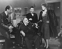 0016218 © Granger - Historical Picture ArchiveTHE MALTESE FALCON, 1941.   Film still with Humphrey Bogart, Sydney Greenstreet, Peter Lorre, and Mary Astor.