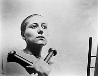 0122158 © Granger - Historical Picture ArchivePASSION OF JOAN OF ARC.   The French actress Maria Falconetti as the title character in a scene from the silent film 'The Passion of Joan of Arc,' directed by Carl Theodor Dreyer, 1928.