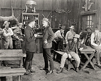 0017000 © Granger - Historical Picture ArchiveSILENT FILM STILL: COWBOYS.   'The Fighting Roosevelts,' 1919.