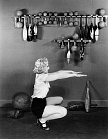 0039698 © Granger - Historical Picture ArchiveSILENT STILL: EXERCISE.