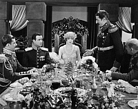 0075234 © Granger - Historical Picture ArchiveDUCHESS OF BUFFALO, 1926.   Constance Talmadge, Tullio Carminsty (at right) and Lawrence Grant (at her left) in a scene from the film.
