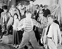 0075390 © Granger - Historical Picture ArchiveTHE HAPPY WARRIOR, 1925.   Andreas Randolph, Malcolm MacGregor, Olive Borden, Jack Henrick, William Dunn, and Gardener James in a scene from the film.