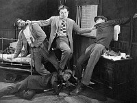 0075412 © Granger - Historical Picture ArchiveSILENT FILM STILL: FIGHTS.