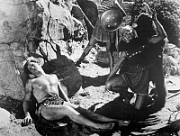 0015896 © Granger - Historical Picture ArchiveTARZAN: CRABBE, 1933.   Buster Crabbe as 'Tarzan the Fearless,' 1933.