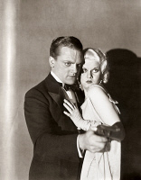 0002786 © Granger - Historical Picture ArchiveTHE PUBLIC ENEMY, 1931.   James Cagney and Jean Harlow in a scene from the film, 'The Public Enemy,' 1931.