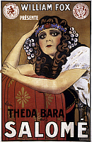 0022085 © Granger - Historical Picture ArchiveFRENCH POSTER: SALOME, 1918.   Theda Bara starring.