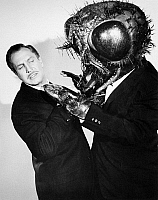 0069446 © Granger - Historical Picture ArchiveFILM: THE FLY, 1958.   Vincent Price with the title character.