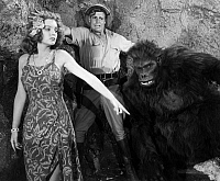 0088444 © Granger - Historical Picture ArchiveFILM STILL: NABONGA, 1944.   With Julie London and Buster Crabbe.