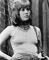 0122451 © Granger - Historical Picture ArchiveFILM: KLUTE, 1971.   Jane Fonda as Bree Daniels in 'Klute' directed by Alan J. Pakula, 1971.