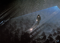 0184413 © Granger - Historical Picture ArchiveFILM: ALIEN, 1979.   Scene from the science-fiction film, 'Alien,' directed by Ridley Scott, 1979.