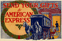0095566 © Granger - Historical Picture ArchiveAMERICAN EXPRESS SHIPPING.   Advertisement for American Express Company shipping, September 1917.