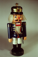 0355235 © Granger - Historical Picture ArchiveNUTCRACKER, 1995.   A wooden nutcracker doll. Photograph, 1995. Full credit: Fredi Arndt - ullstein bild / Granger, NYC -- All Rights Reserved.