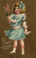 0095759 © Granger - Historical Picture ArchiveVALENTINE'S DAY CARD.   Printed in Germany, 1908.