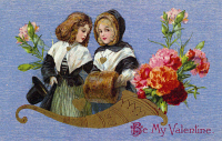 0095760 © Granger - Historical Picture ArchiveVALENTINE'S DAY CARD.   Printed in Germany, c1913.