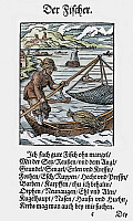 0075100 © Granger - Historical Picture ArchiveFISHERMAN, 1568.   Woodcut, 1568, by Jost Amman.