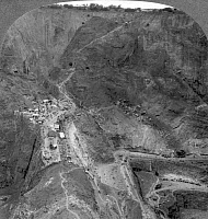 0077607 © Granger - Historical Picture ArchiveDIAMOND MINE, SOUTH AFRICA.   View of the Premier Diamond Mine, founded in 1902, east of Pretoria, South Africa: stereograph, early 20th century.
