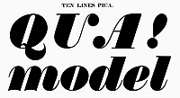0097271 © Granger - Historical Picture ArchiveTYPOGRAPHY, 1825.   Ten lines pica, a typeface from the catalog of Baker & Greele, Boston, 1825.