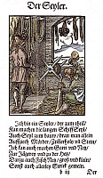 0075482 © Granger - Historical Picture ArchiveROPE MAKER, 1568.   Woodcut, 1568, by Jost Amman.
