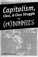 0354528 © Granger - Historical Picture ArchiveOCCUPY WALL STREET, 2012.   Front page of the pamphlet 'Capitalism, Class, & Class Struggle for (ex)Dummies,' distributed by Occupy Wall Street protesters at Union Square in Manhattan, New York City, March 2012.
