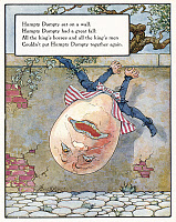0007424 © Granger - Historical Picture ArchiveHUMPTY DUMPTY, 1915.   Illustration by Frederick Richardson for a 1915 edition of Mother Goose's nursery rhymes.
