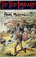 0008844 © Granger - Historical Picture ArchiveDIME NOVEL, 1896.   'First Days at Fardale.' Cover of a Street & Smith dime novel of 1896 in the 'Frank Merriwell' series.