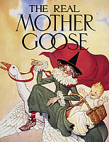 0010802 © Granger - Historical Picture ArchiveMOTHER GOOSE, 1916.   Drawing by Blanche Fisher Wright, 1916, for an edition of 'Mother Goose.'