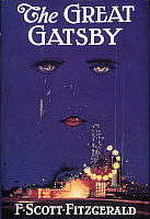 0037995 © Granger - Historical Picture ArchiveGREAT GATSBY COVER, 1925.   Cover of the first edition, 1925, of 'The Great Gatsby' by F. Scott Fitzgerald.