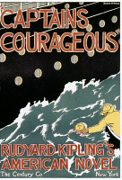 0049728 © Granger - Historical Picture ArchiveCAPTAINS COURAGEOUS.  Poster by Blanche McManus for the first US edition, 1897, of Rudyard Kipling's Captains Courageous.