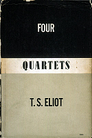 0052567 © Granger - Historical Picture ArchiveELIOT: FOUR QUARTETS.   Front jacket cover for the first U.S. edition of 'Four Quartets' by T.S. Eliot (1888-1965), published in 1943.