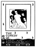 0058317 © Granger - Historical Picture ArchiveBEARDSLEY: RHINEGOLD.   Frontispiece. Drawing by Aubrey Vincent Beardsley for 'The Comedy of the Rhinegold.'