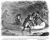 0067840 © Granger - Historical Picture ArchiveLAST OF THE MOHICANS, 1872.   Wood engraving after Felix O.C. Darley from an 1872 edition of James Fenimore Cooper's 'The Last of the Mohicans.'
