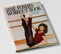 0116447 © Granger - Historical Picture ArchiveFONDA'S WORKOUT BOOK, 1981.   Cover of 'Jane Fonda's Workout Book,' a book of fitness advice for women by American actress Jane Fonda, 1981.