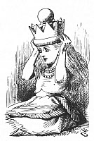 0433943 © Granger - Historical Picture ArchiveCARROLL: ALICE, 1872.   Illustration by Sir John Tenniel for Lewis Carroll's 'Alice's Adventures in Wonderland.' Illustration, 1872.