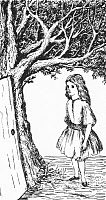0433953 © Granger - Historical Picture ArchiveCARROLL: ALICE, 1866.   Illustration by Lewis Carroll for an 1866 edition of 'Alice's Adventures Under Ground.'