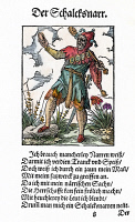 0076804 © Granger - Historical Picture ArchiveJESTER, 1568.   Woodcut, 1568, by Jost Amman.