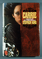 0267746 © Granger - Historical Picture ArchiveKING: CARRIE, 1974.   First edition of 'Carrie' by Stephen King, 1974.