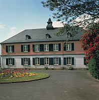 0364450 © Granger - Historical Picture ArchiveLITERATURE.   The nursing home in the Endenich district in Bonn (Germany), where Robert Schumann (1810-1856) was a resident. Full Credit: De Agostini Picture Library / Granger, NYC -- All Rights Reserved.