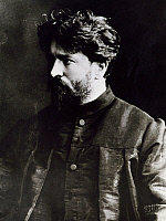 0365382 © Granger - Historical Picture ArchiveLITERATURE.   Ferruccio Busoni (Empoli, 1866-Berlin, 1924), Italian pianist, composer and conductor, in Moscow, 1890. Full Credit: De Agostini / A. De Gregorio / Granger, NYC -- All Rights Reserved.